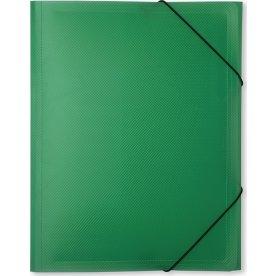 DocuSmart elastikmappe A4, PP, grøn