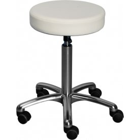 CL Beta stol, hvid, kunstlæder, 360/60 mm