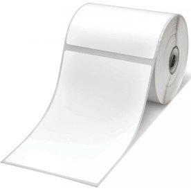 Brother RD Papirlabel 102 x 152 mm, 278 stk