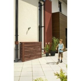 Garantia regnvandsbeholder, 350 l, trælook