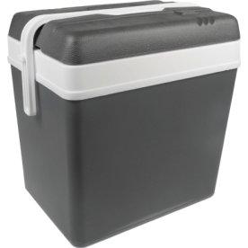 Køleboks 24 liter, grå/hvid