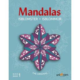 Mandalas malebog Isblomster, bind I