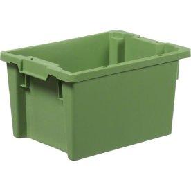 Arca stabelkasse 18 liter, 400x300x220, Grøn