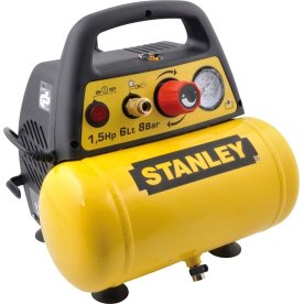Stanley kompressor 6 l, 1,5 hk, 8 bar