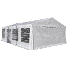 Luksus partytelt 5x8 m, PVC, hvid