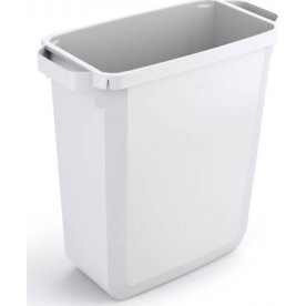 Affaldsspand 60 l, (HxBxD) 555x285x615, Hvid