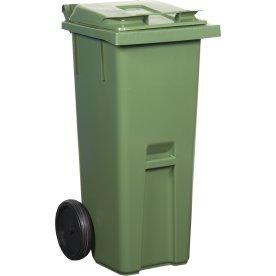Affaldsvogn 190 l, grøn