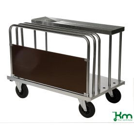 Sidepanel til transportvogn med bøjler