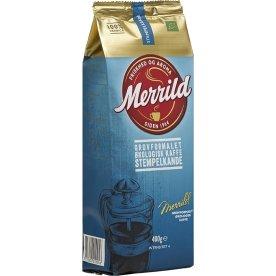 Merrild Grovformalet Økologisk kaffe, 400g