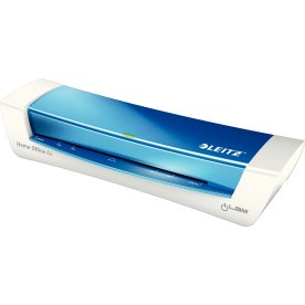 Leitz Lamineringsmaskine iLAM Home A4 hvid/blå