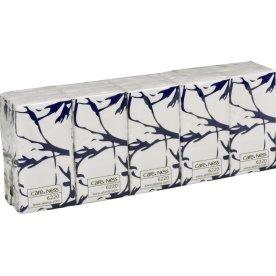 CareNess Excellent papirlommetørklæder, 3-lags