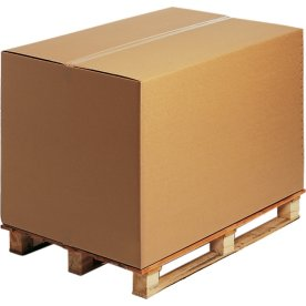 Mammut pallecontainer 1/1, 2-lags