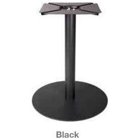 Søjle til konferencebord sort