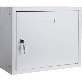Opbevaringsskab 2 hylder, 380x470x205 mm, Hvid
