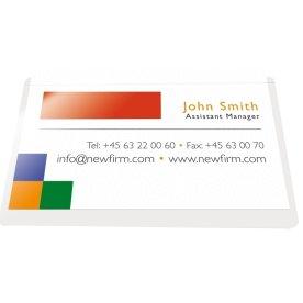 Peel & Seal visitkortlomme, 95 x 60 mm, 100 stk.