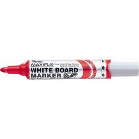 Pentel Maxiflo whiteboard marker, rød