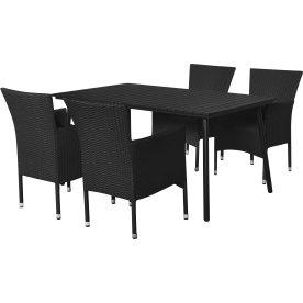 Genova havemøbelsæt til 4 pers. - luksusstole