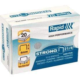 Rapid Strong 21/4 Hæfteklammer, 5000 stk.