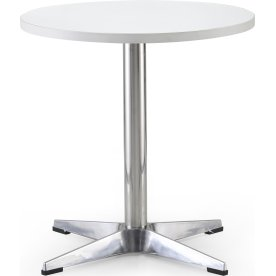 Guest lounge bord Ø60, H. 61 cm, hvid