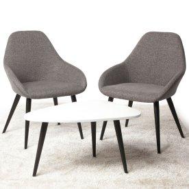 Bello Loungesæt, 2 stole og bord