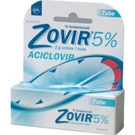 Zovir Creme, 50 mg