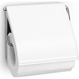 Brabantia Toiletrulleholder, white
