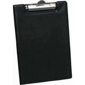 Bantex clipboard A5, med omslag, sort