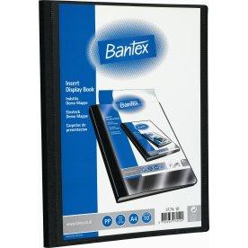 Bantex demomappe A4, 10 lommer, sort
