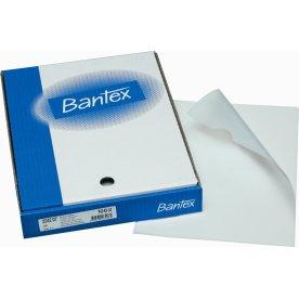 Bantex omslag, PP, 0,11mm, 100stk, hvid