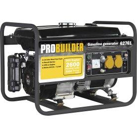 Probuilder Generator med 4-taktsmotor, 3000w