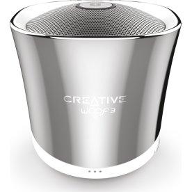 Creative WOOF3 Bluetooth højtaler, Krom
