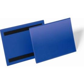 Durable Lagerlommer m/magnet, A5 tværformat