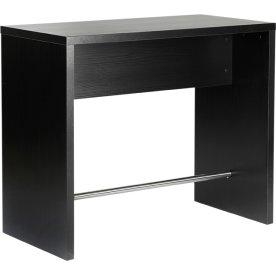 Detroit højt møde bord B60xL120xH100 cm Sort