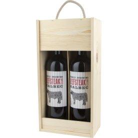 Beefsteak Club Malbec, rødvin, 2 stk. i gaveæske