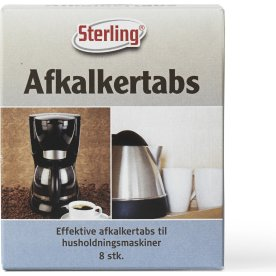 Sterling Afkalkertabs, 8 stk.