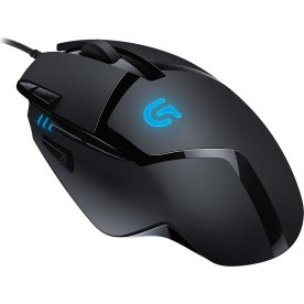 Logitech G402 gamer mus, Sort