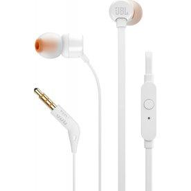 JBL T110 In-ear øretelefoner i hvid