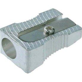 Budget Blyantspidser, aluminium, enkelt hul