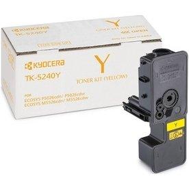 Kyocera TK-5240Y lasertoner, gul, 3000s