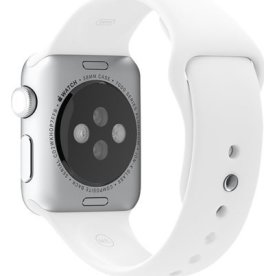 Apple Sportsrem til Apple Watch, hvid, 38 mm