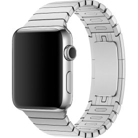 Apple sølv Link Urrem, 42mm