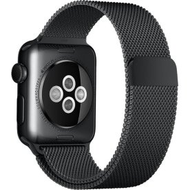 Apple urrem, Sort Milanese Loop, 38mm