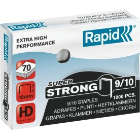 Rapid Super Strong 9/10 Hæfteklammer, 1000 stk.