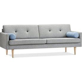 Jive Sofa 3 pers, Grå, L 223 cm