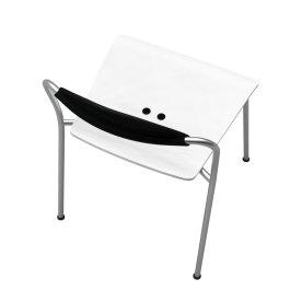 Vico Uno stol, Hvid
