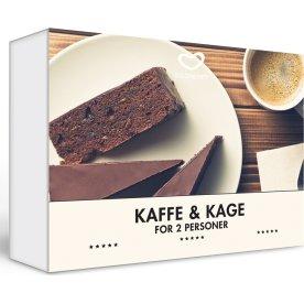 Oplevelsesgave - Kaffe og kage for 2