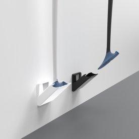 Sanimaid Toiletbørste med vægholder, sort