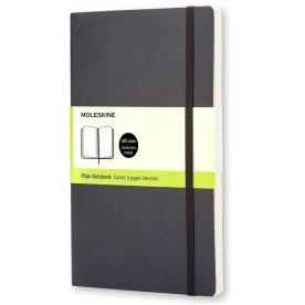 Moleskine Clas. Soft Notesbog Large, blank, sort