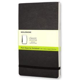 Moleskine Rep. Soft Notesbog Large, blank, sort