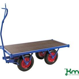 Lagervogn med 1 hylde - 1000 kg